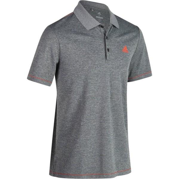 ADIDAS Golf Poloshirt Climacool Herren grau meliert, Größe: S