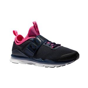 DOMYOS Fitnessschuhe Cardio 500 Mid Damen blau/rosa, Größe: 36