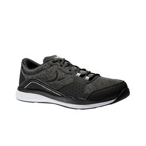 DOMYOS Fitnessschuhe Cardio 500 Herren schwarz/grau, Größe: 40