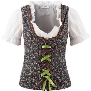 Damen Mieder und Dirndl-Bluse