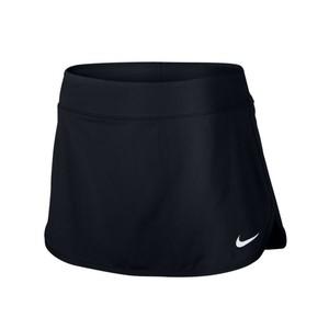 NIKE Tennisrock Pure Damen schwarz, Größe: M