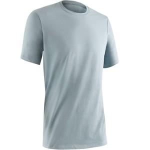 DOMYOS T-Shirt Gym 500 Regular Herren Fitness blau/grau, Größe: S