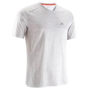 KALENJI Laufshirt Run Dry+ Herren Aufdruck/weiß, Größe: L
