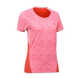 QUECHUA Wandershirt MH500 Damen rosa/rot, Größe: XS