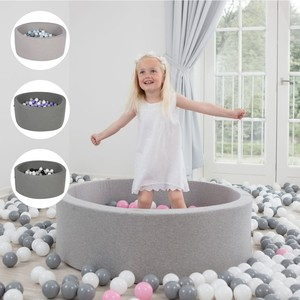 Indoor-Bällebad 90 cm mit 200 Bällen