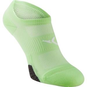 DOMYOS Sportsocken Invisible Fitness-/Cardio-Training 2 Paar grün, Größe: 35/38