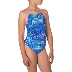 NABAIJI Badeanzug Jade chlorresistent Mädchen blau, Größe: 8 J. - Gr. 128