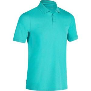 INESIS Golf Poloshirt 900 Kurzarm Herren türkis meliert, Größe: S