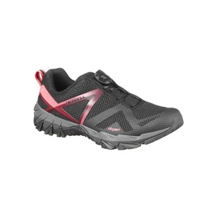 MERRELL Wanderschuhe Fast-Hiking MQM BOA Damen schwarz/rosa, Größe: 37