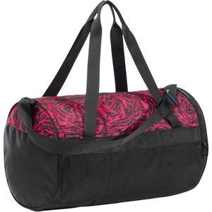 DOMYOS Sporttasche Fitness 20 l rosa/schwarz/ bedruckt, Größe: S