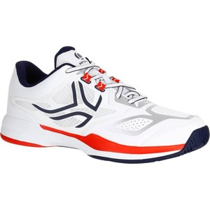 ARTENGO Tennisschuhe TS560 Multicourt Herren weiß/rot, Größe: 39