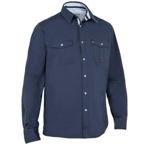 TRIBORD Segelhemd 100 Herren dunkelblau, Größe: 38