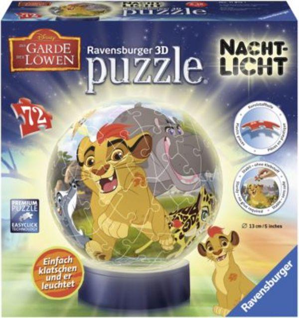 puzzleball® Nachtlicht König der Löwen: Die Garde der Löwen 72 Teile
