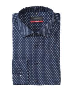 Seidensticker - Businesshemd, langarm, gemustert