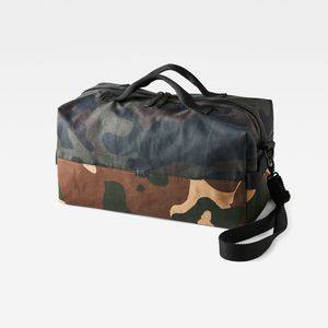 Barran Pattern Big Duffle Bag