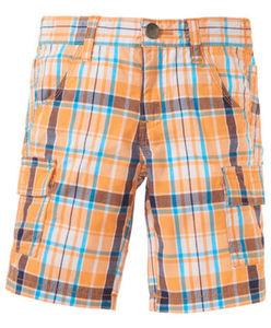 Shorts - kariert, aufgesetzte Taschen