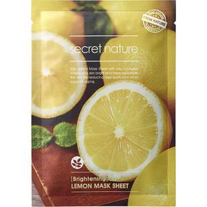 Secret Nature Lemon Mask Sheet [Brightening]