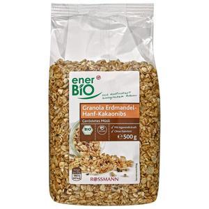 enerBiO Bio Granola Erdmandel-Hanf-Kakaonibs 6.98 EUR/1 kg