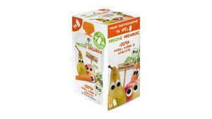 Freche Freunde Bio Quetschie 100% Apfel, Birne & Karotte 4er Pack