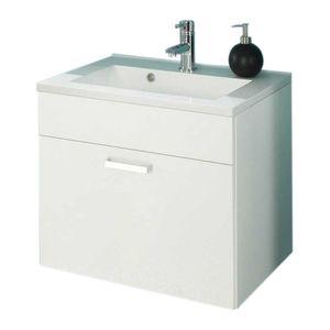 Waschplatz Malaga - Weiß, Posseik