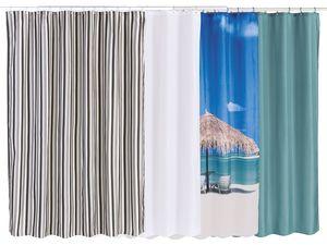MIOMARE® Duschvorhang, 180 x 200 cm