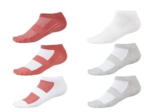 Crivit® 3 Paar Damen Sneakersocken
