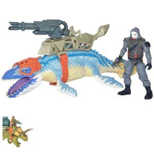 Jurassic Battle - Dinosaurier Commander Actionfigur - verschiedene Ausführungen