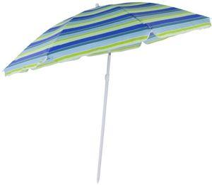 Sonnenschirm - aus Polyester - Ø = 180 cm - gestreift
