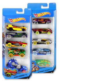 MATTEL Metallauto-Set HOT WHEELS