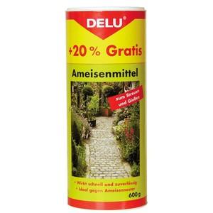 DELU - Ameisen-Mittel 600 g zum Gießen und Streuen