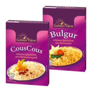 GOLDEN FARM  	   CousCous / Bulgur