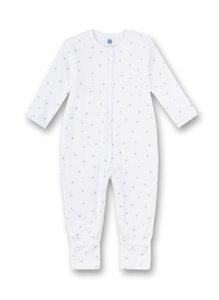 Baby Strampler mit Klappfüßen für Mädchen