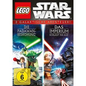 DVD - LEGO Star Wars: Die Padawan Bedrohung & Das Imperium schlägt ins Aus