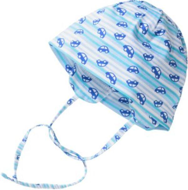 Baby Wende-Hut zum Binden mit UV-Schutz 50+ Gr. 47 Jungen Baby