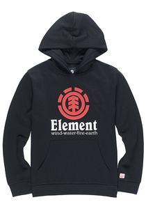 Element Vertical - Kapuzenpullover für Jungs - Schwarz