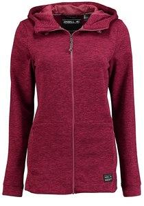 O´Neill Hoody Fleece - Kapuzenjacke für Damen - Rot