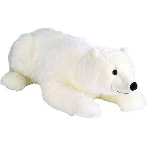 Kuschelwuschel Eisbär liegend, ca. 90 cm