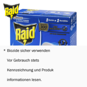 Raid Insektenstecker