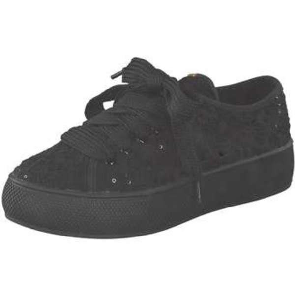 Esprit Plateau Sneaker Damen schwarz