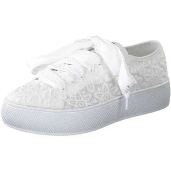 Esprit Plateau Sneaker Damen weiß