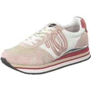 Wrangler Jungle Plateau Sneaker Damen rosa