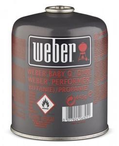 Weber Gaskartusche small ,  445 g, mit Schraubventil