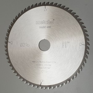 Metabo Kreissägeblatt Multi Cut HW/CT 216 x 30 mm 64FZ/TZ