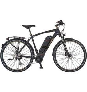 Prophete Herren E-Bike Alu-Trekking, 28 Zoll, 10 Gang Shimano Deore, Mittelmotor, 250 Watt, »AEG Navigator eSport«