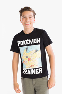 Here and There         Pokémon - Kurzarmshirt - Glanz Effekt