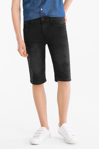 Here and There         THE SHORT JEANS - Jog Denim