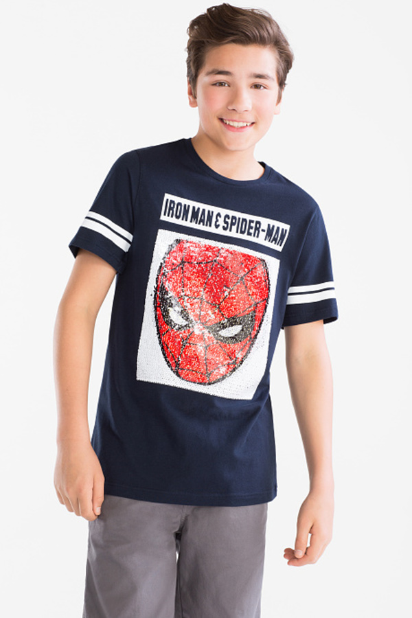 Here and There         Marvel - Kurzarmshirt