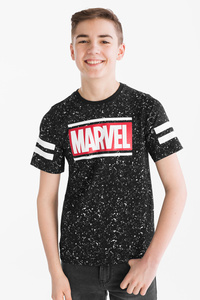 Here and There         Avengers - Kurzarmshirt