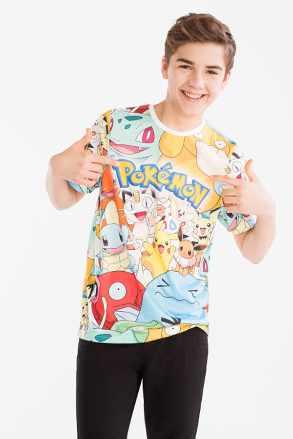 Here and There         Pokémon - Kurzarmshirt