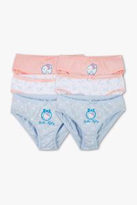 Hello Kitty - Slip - Bio-Baumwolle - 6er Pack